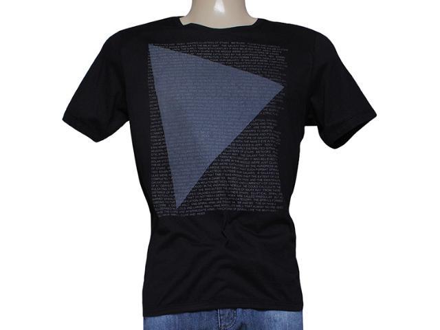 Camiseta Masculina Index 08.02.000238 Preto
