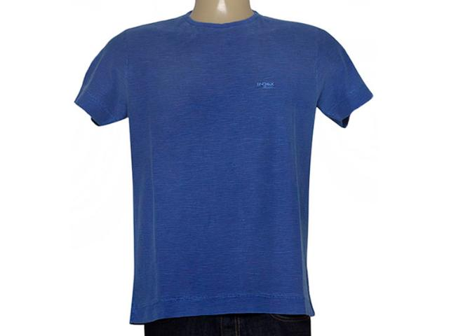 Camiseta Masculina Index 08.02.000271 Azul