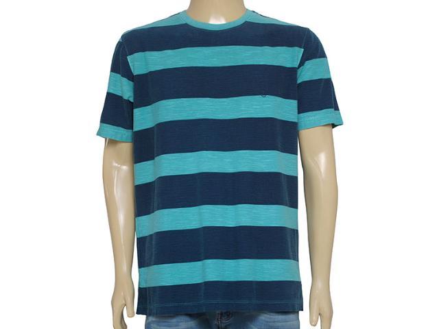 Camiseta Masculina Individual 304.22222.155 Verde/marinho