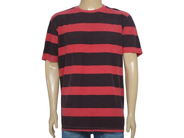 Camiseta Masculina Individual 304.22222.155 Vermelho/bordo