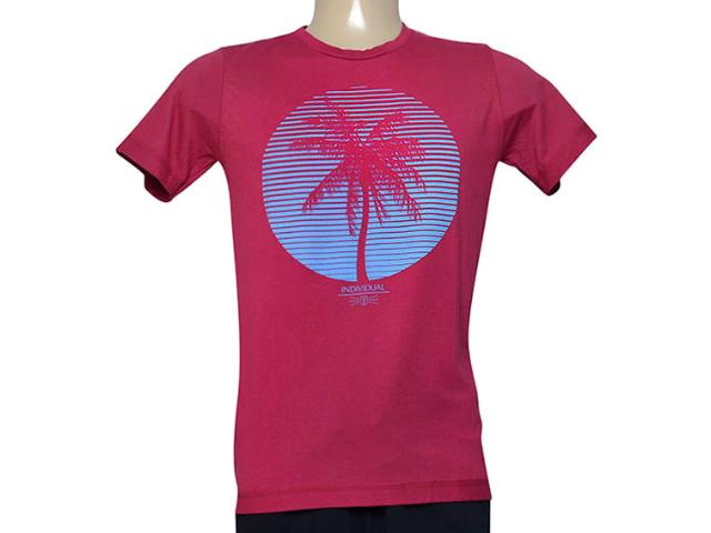 Camiseta Masculina Individual 304.22222.226 Cereja