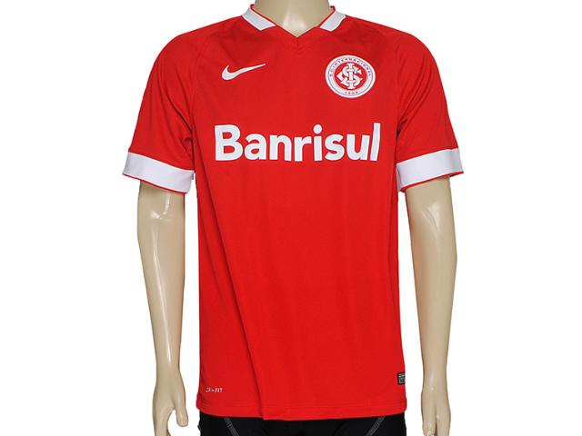 Camiseta Masculina Inter 619206-612 Sci ss Home Torcedor Vermelho/branco