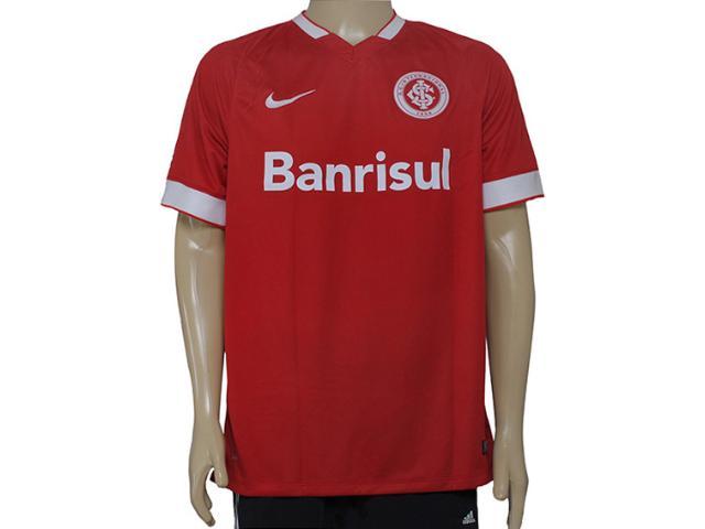 Camiseta Masculina Inter 619204-612 Sci Home N10 Torcedor Vermelho/branco