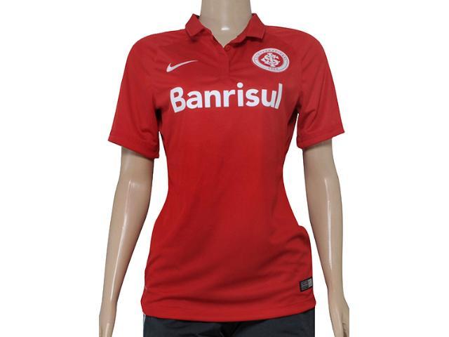 Camiseta Feminina Inter 658975-612 Sci w Home Torcedor  Vermelho