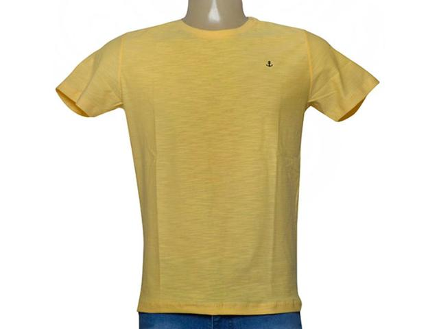Camiseta Masculina King & Joe Ca09109 Amarelo