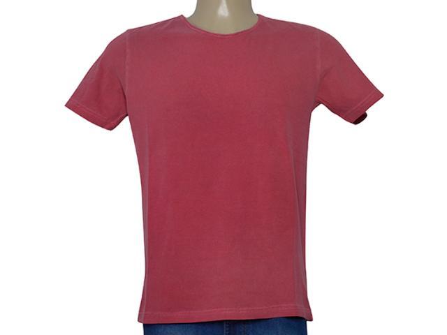 Camiseta Masculina King & Joe Ca09514 Vermelho