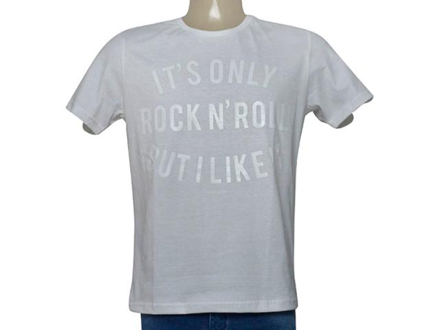 Camiseta Masculina King & Joe Ca09202 Off White