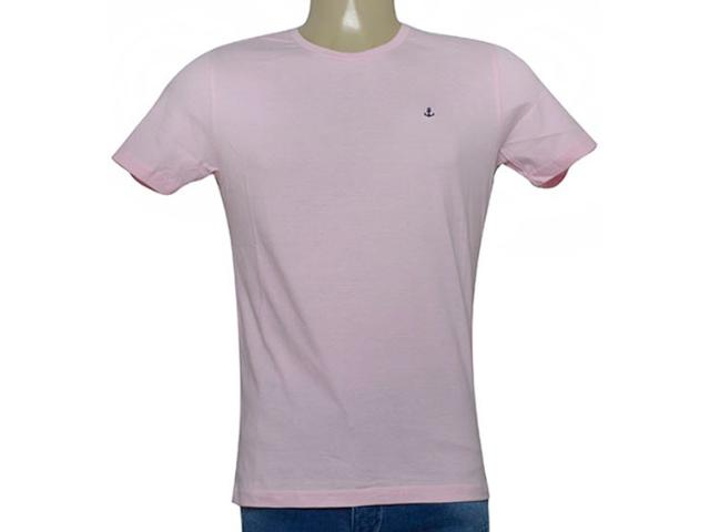 Camiseta Masculina King & Joe Ca09027 Rosa