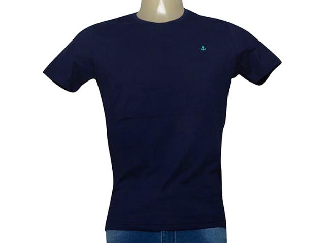 Camiseta Masculina King & Joe Ca09027 Marinho