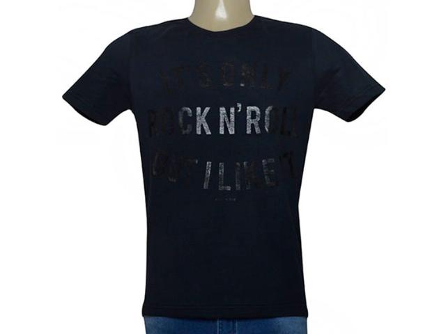 Camiseta Masculina King & Joe Ca09202 Preto