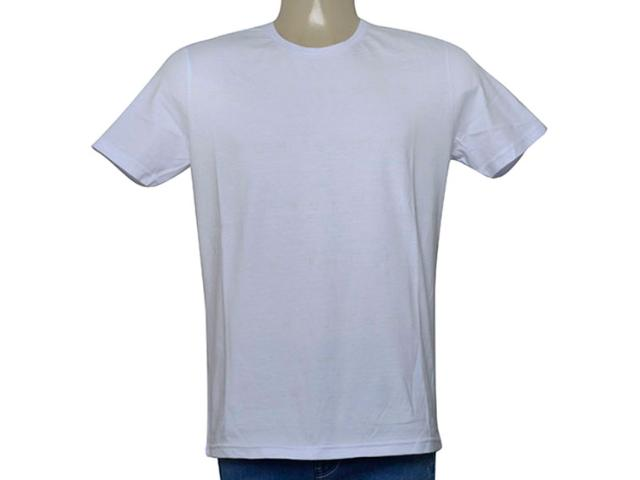 Camiseta Masculina King & Joe Ca09003 Branco