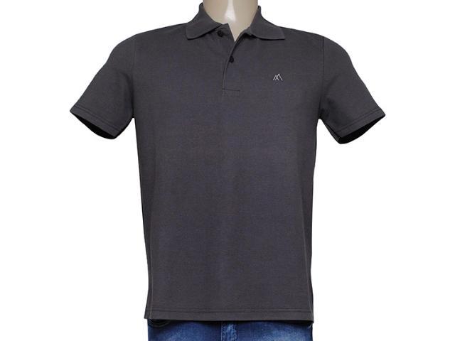 Camiseta Masculina Mineral 95002 Marrom
