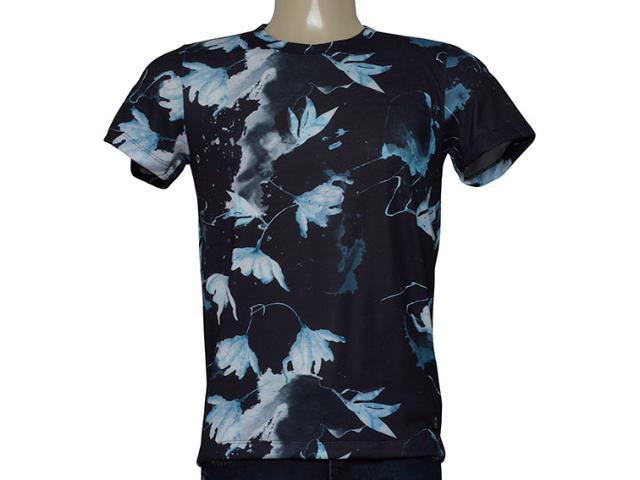 Camiseta Masculina Mormaii Clothing 355900392 Var16 Preto Estampado