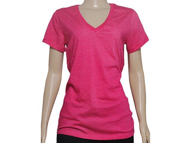 Camiseta Feminina Nike 450725-697 Vneck Dfc ss Tee Pink