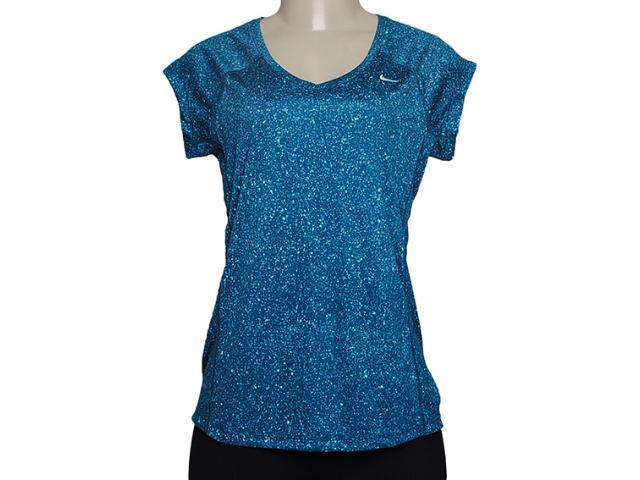 Camiseta Feminina Nike 627029-483 Azul
