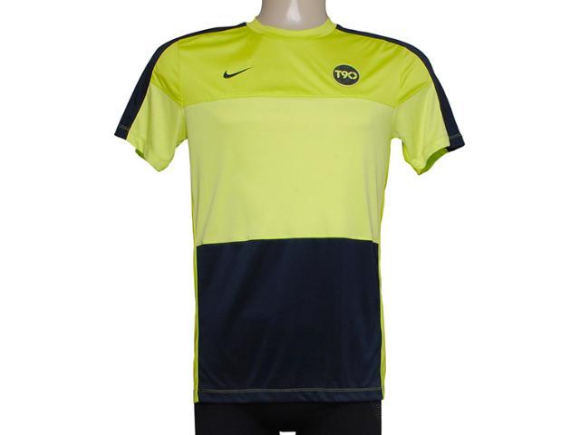 Camiseta Masculina Nike 477826-384 Limão/marinho