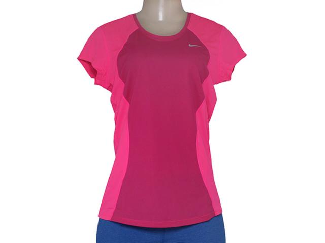 T-shirt Feminino Nike 645443-616 Racer ss Top  Pink