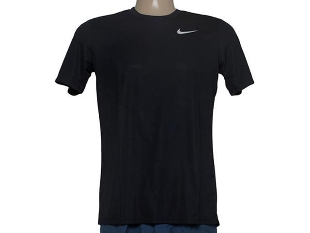 Camiseta Masculina Nike 667672-010 Racer ss  Preto