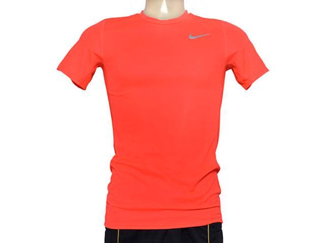 Camiseta Masculina Nike 667672-672 em Racer ss Laranja