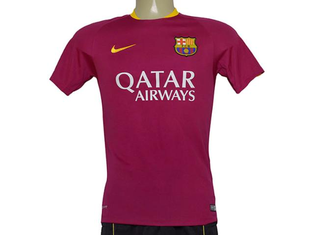 Camiseta Masculina Nike 686600-560 Barcelona Flash  Vinho