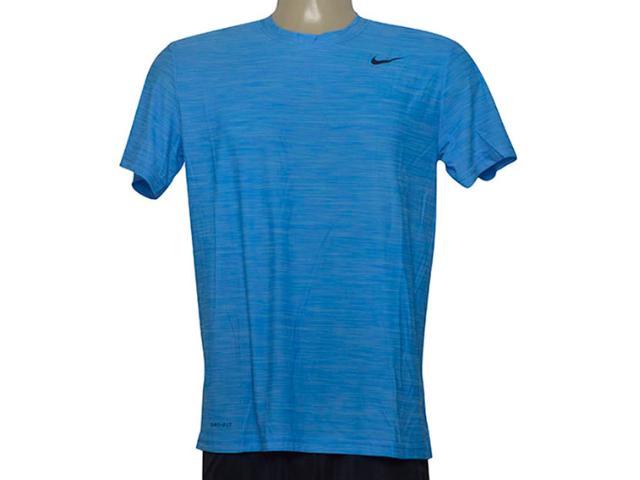Camiseta Masculina Nike 832864-484 m nk Brthe ss Top Azul