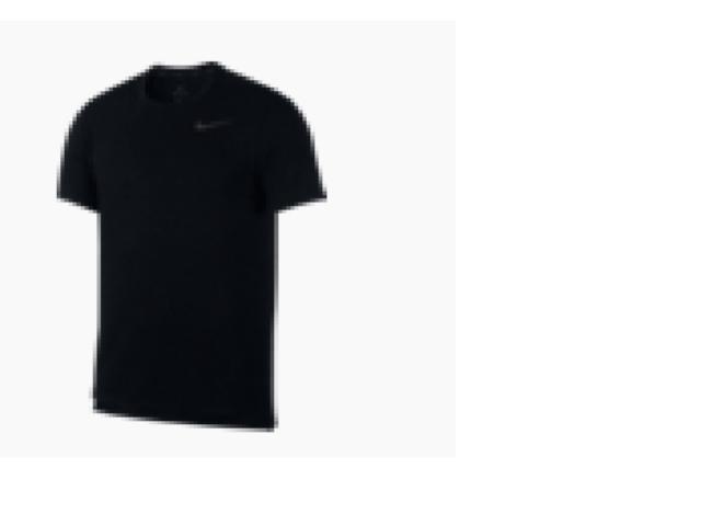 Camiseta Masculina Nike Aj8002-010 Dri Fit Breathe Preto