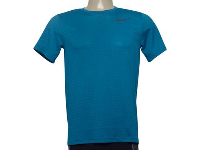 Camiseta Masculina Nike 886742-301 m nk Brt Top ss Vent Azul