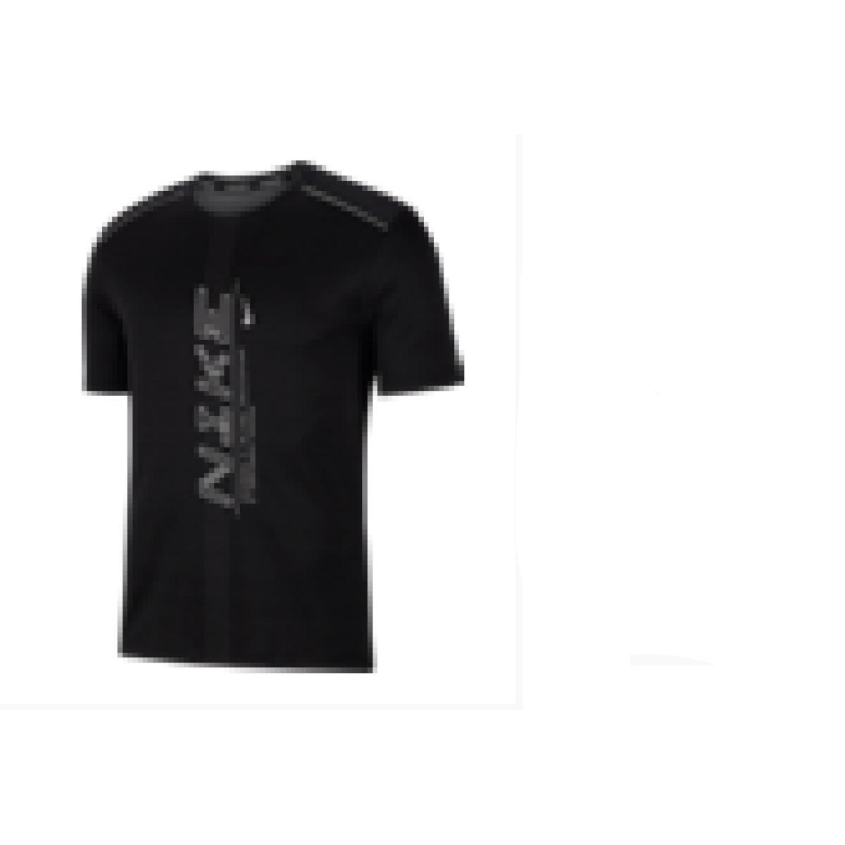 Camiseta Masculina Nike Cj5340-010 Dri-fit Miler Preto