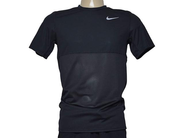 Camiseta Masculina Nike 644396-011 Racer  ss  Preto