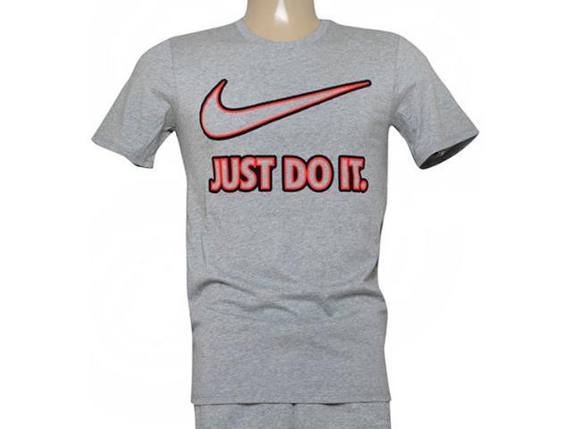 Camiseta Masculina Nike 804978-063 Tee-embrd Jdi  Cinza
