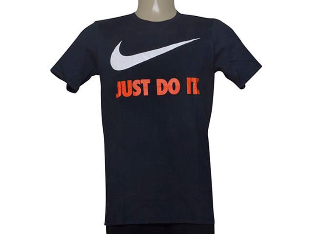 Camiseta Masculina Nike 707360-475 Sportswear New Just Chumbo