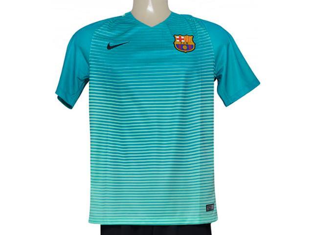 Camiseta Masculina Nike 776854-388 fc Barcelona Stadium Verde