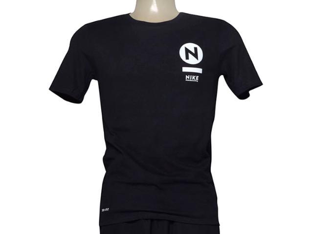 Camiseta Masculina Nike 806067-010 sb Transit  Preto