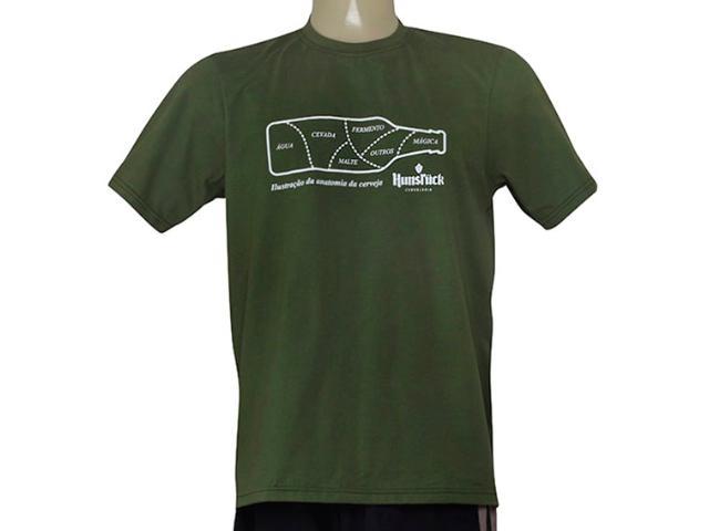 Unisex Panf Camiseta Hunsruck Verde Musgo