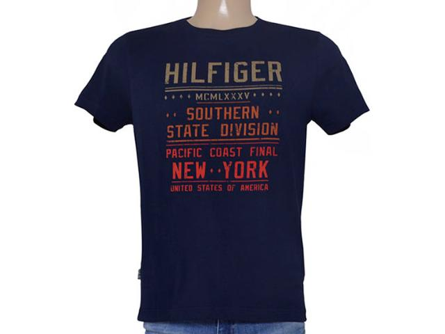 Camiseta Masculina Tommy Th0887882929 Marinho