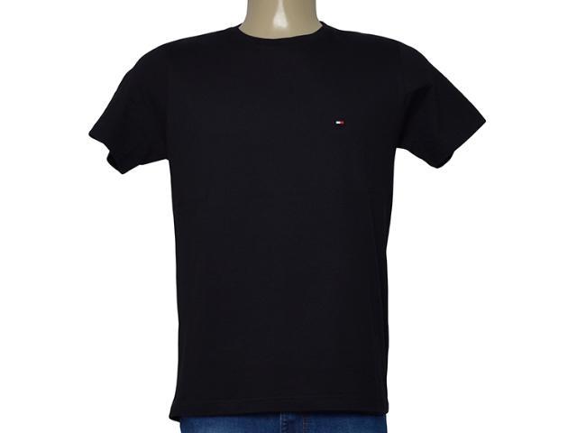 Camiseta Masculina Tommy Thmw0mw01073 Preto