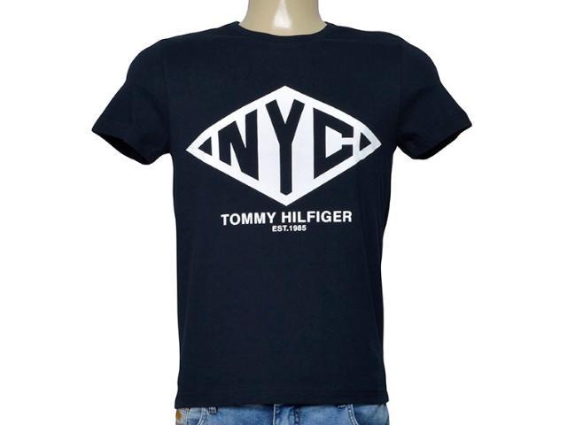 Camiseta Masculina Tommy Thmw0mw08354 403 Preto