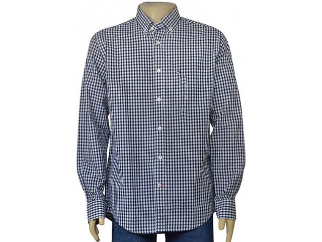 Camisa Masculina Tommy Th0867859792 Marinho