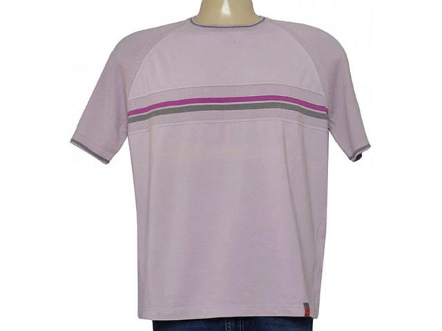 Camiseta Masculina Zanatta 1333 Rose