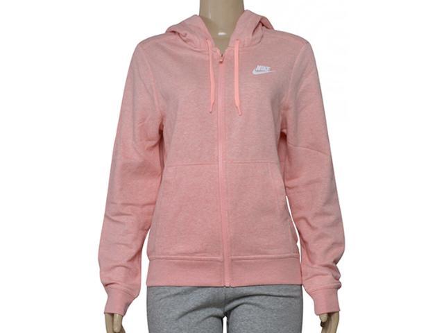 Casaco Feminino Nike 853930-697 w Ssw Hoodie fz Rosa
