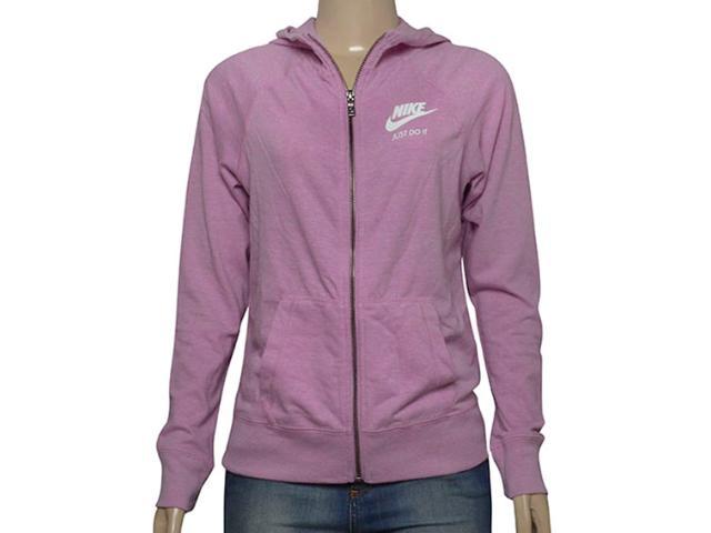 Casaco Fem Infantil Nike 728402-565 Sportswear Gym Lilas