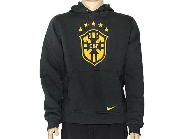Casaco Masculino Nike 589224-337 Club Cbf Core Hoody Musgo Escuro