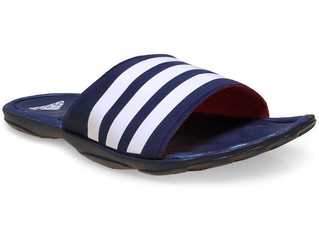 Chinelo Masculino Adidas B33743 Adipure Slide Marinho/branco