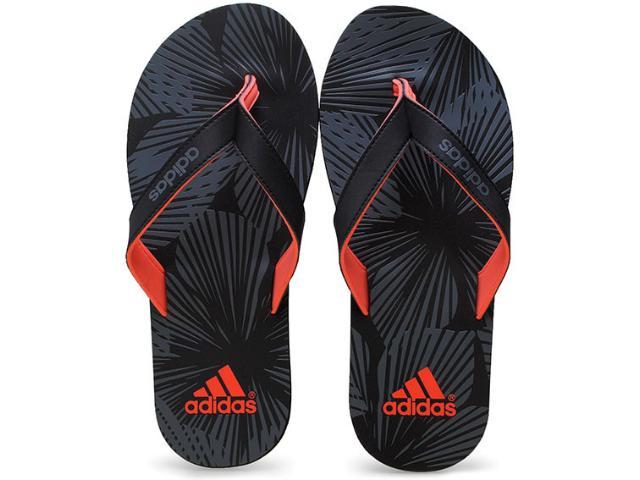 Chinelo Masculino Adidas B33763 Eezay Preto/cinza/coral
