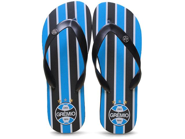 Chinelo Masculino Grêmio  001 Preto