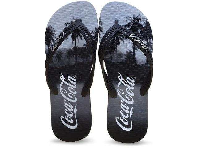 Chinelo Masculino Coca-cola Shoes Cc2049 Preto
