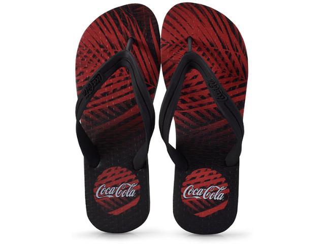 Chinelo Masculino Coca-cola Shoes Ccl2273 Preto