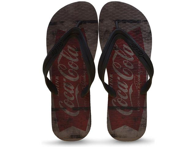 Chinelo Masculino Coca-cola Shoes Ccl2231 Preto