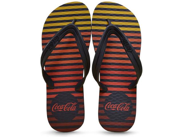Chinelo Masculino Coca-cola Shoes Ccl2237 Preto