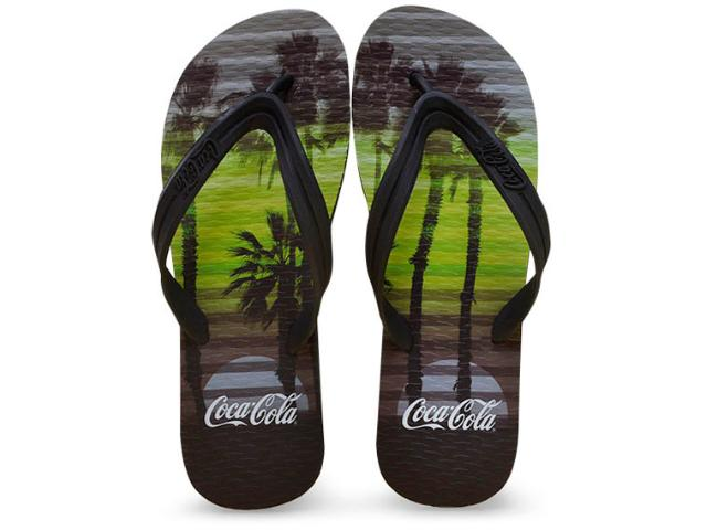 Chinelo Masculino Coca-cola Shoes Ccl2245 Preto